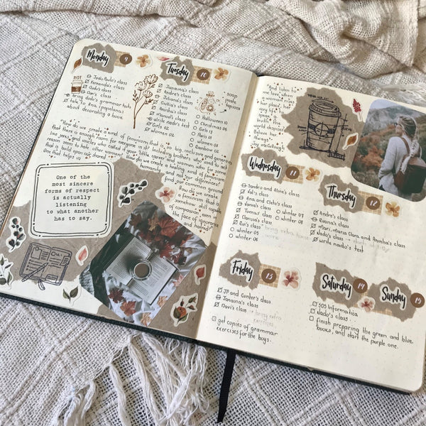 Camila Caminha Bullet Journal