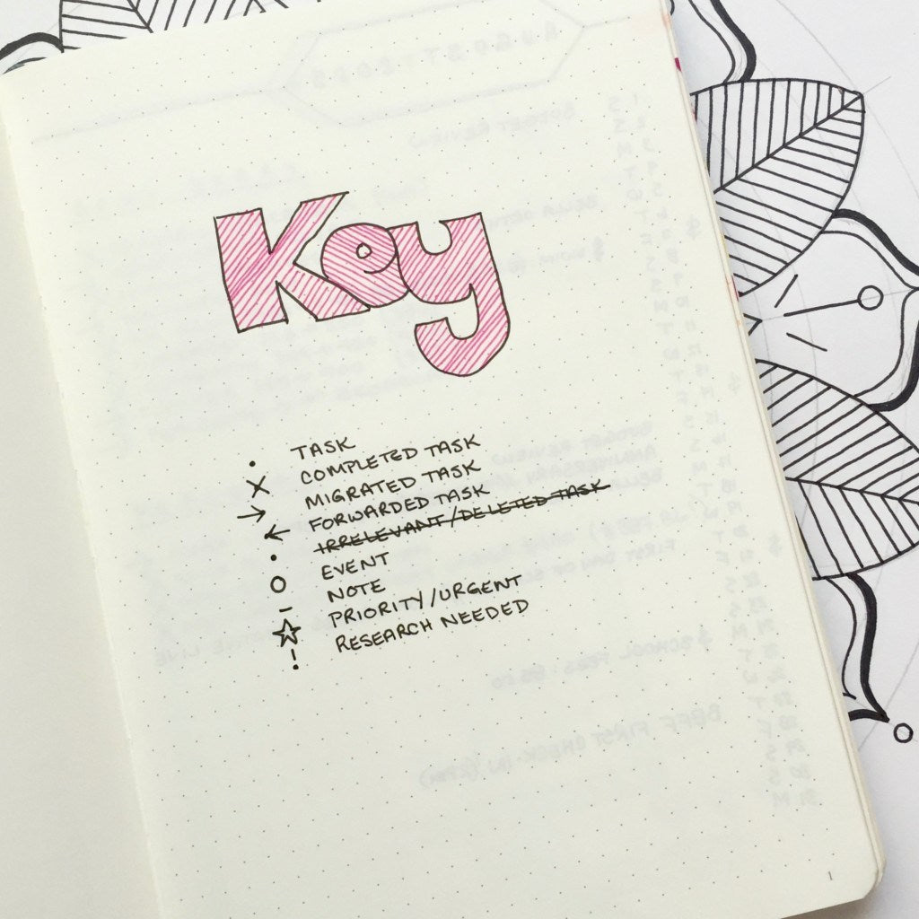 boho berry - Bullet Journal