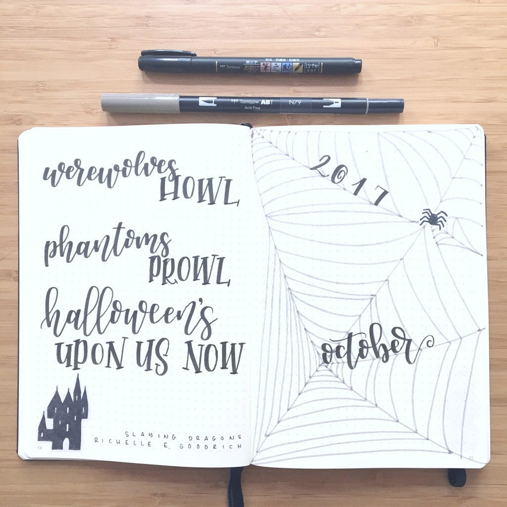 Sunshine and Stationery's October Intro