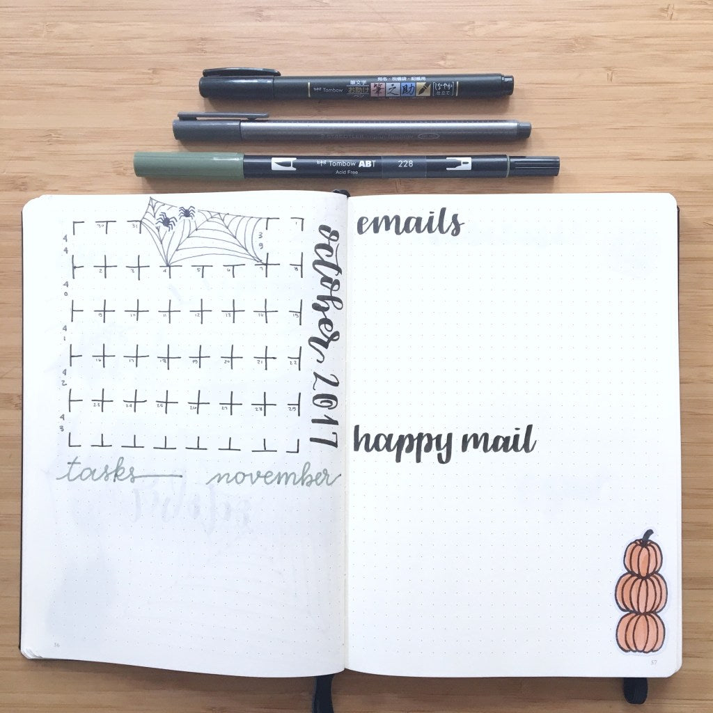 Sunshine and Stationery's October Monthly