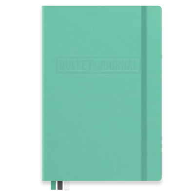 Bullet Journal Notebook Emerald