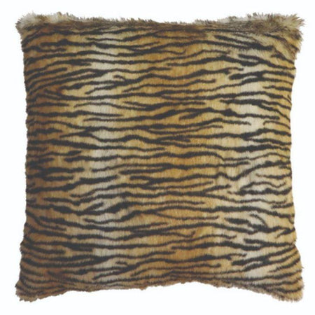 Tiger Faux Fur Cushion