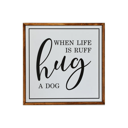 Hug A Dog Sign