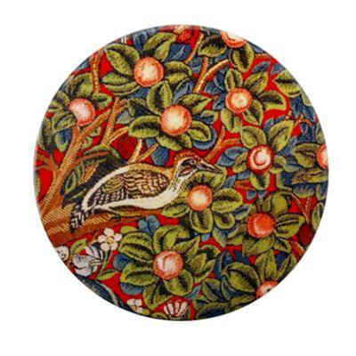 William Morris Ceramic Coaster Woodpecker
