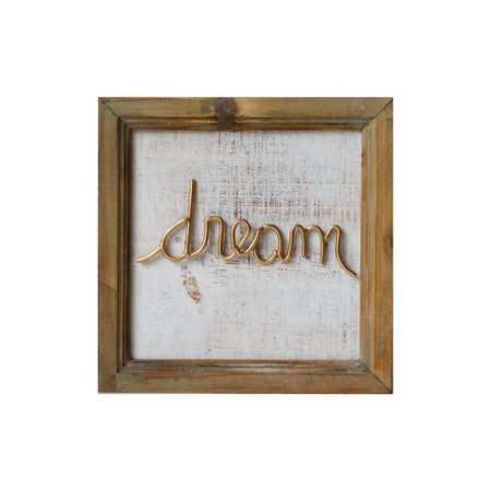 Dream Gold Sign