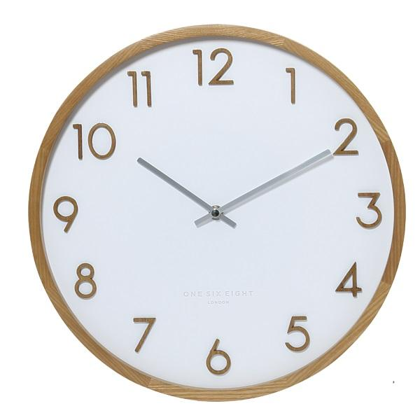 Wall Clock Scarlett Clock White