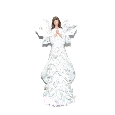 Angel Ornament White Small