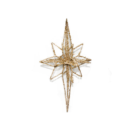 Star Ornament With Lights Gold Small 60cm