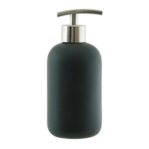 SUDS Ceramic Soap Dispenser - Black - 425mL