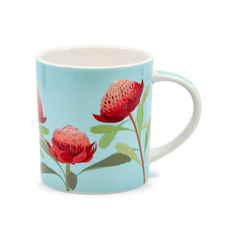 Christopher Vine Australiana Waratah Mug 350ml