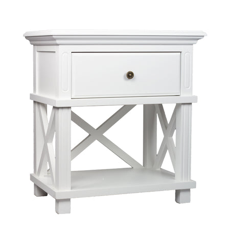 Suffolk White Bedside Table