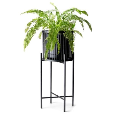 Salt & Pepper Rhythm Plant Stand Black 35X80cm