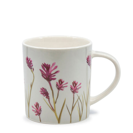 Christopher Vine Australiana Kangaroo Paws Mug 350ml