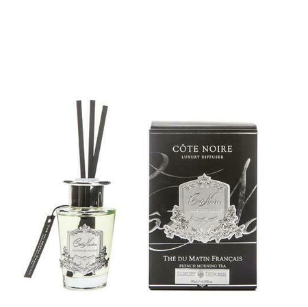 Cote Noire Diffuser Silver French Morning Tea 90ml