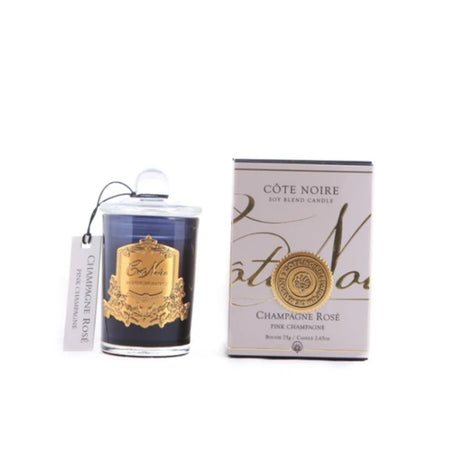 Cote Noire Pink Champagne Gold Candle 75g