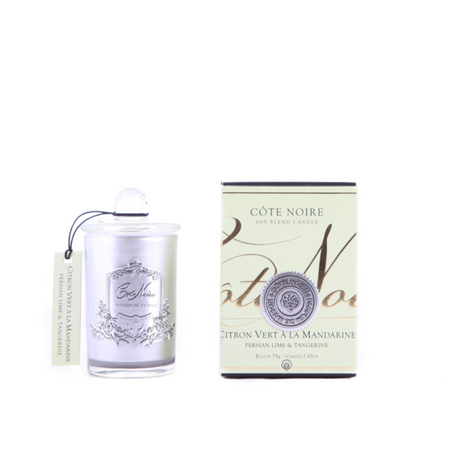 Cote Noire Persian Lime & Tangerine Silver Candle 75g