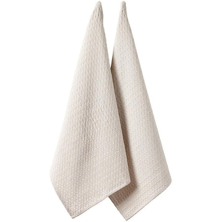 Eco Recycled Natural 2 pack Kitchen Towel