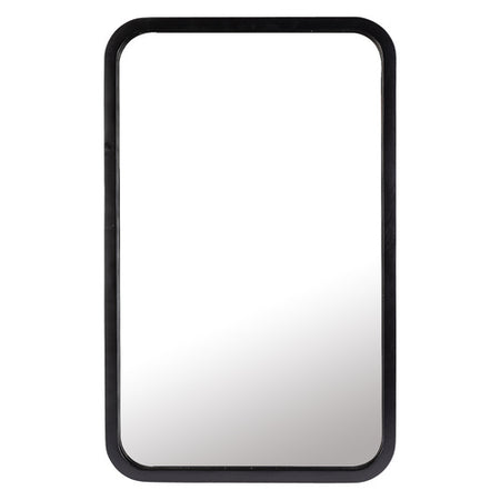 Tina Rectangle Mirror Black Large