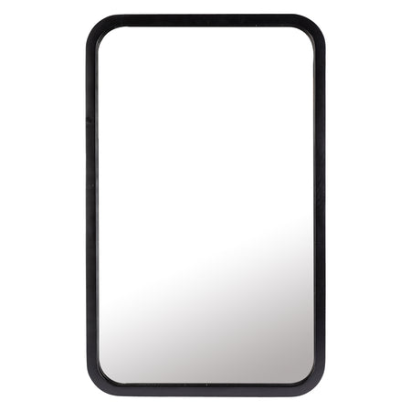 Tina Rectangle Mirror Black Small