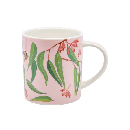 Christopher Vine Australiana Gum Leaves Mug 350ml