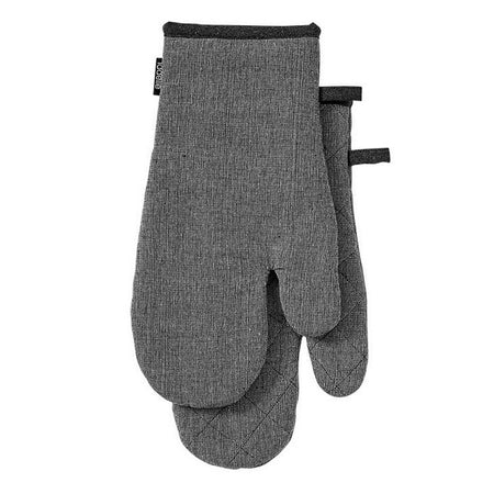 Eco Recycled Charcoal 2 pack Oven Mitt