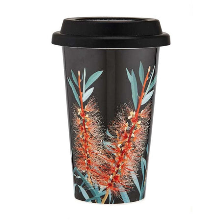 Native Grace Bottlebrush Travel Mug