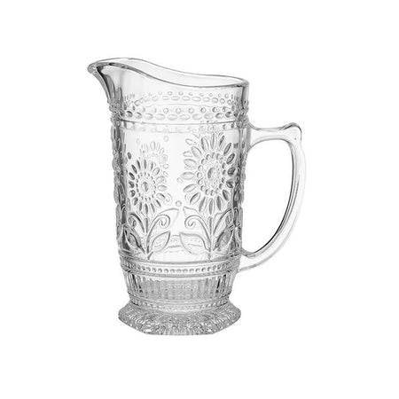 Sunflower Clear Jug