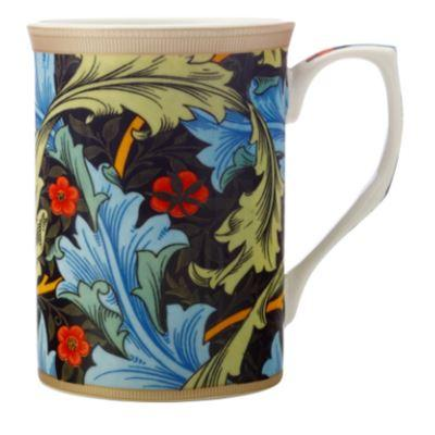 William Morris Mug Blue Acanthus