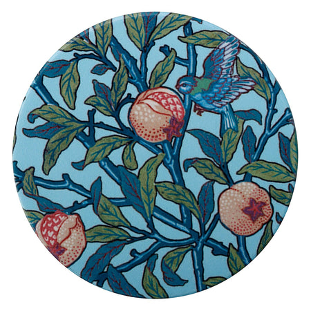 William Morris Ceramic Coaster Bird & Pomegranate
