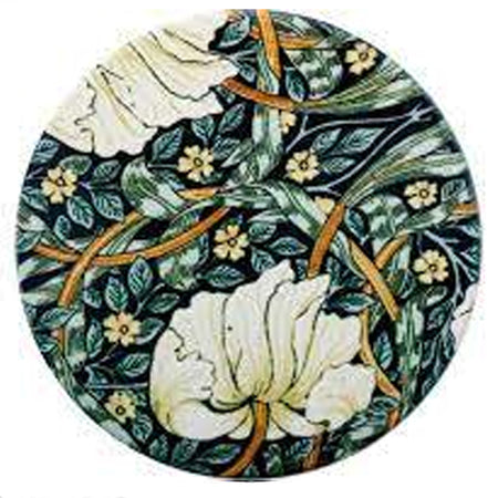 William Morris Ceramic Coaster Pimpernel