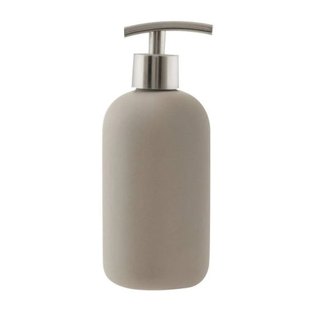 Salt & Pepper Suds Ceramic Soap Dispenser Latte