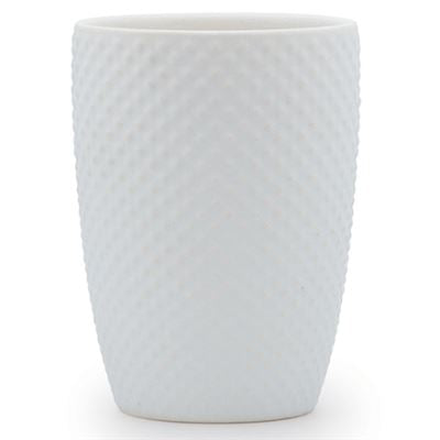 Salt & Pepper Emboss Tumbler White