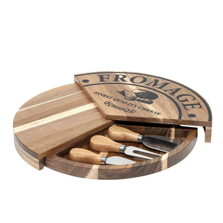 Salt & Pepper Fromage Pivot Board Set