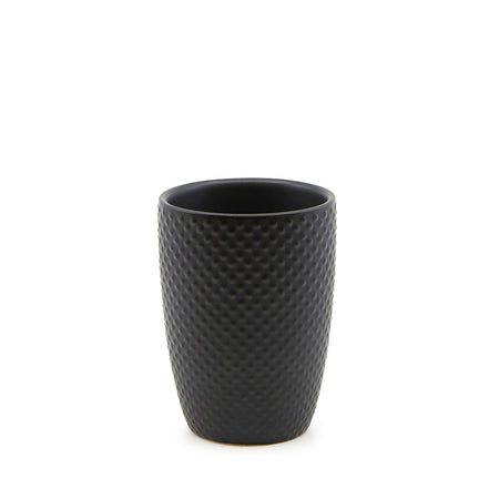 Salt & Pepper Emboss Tumbler Black