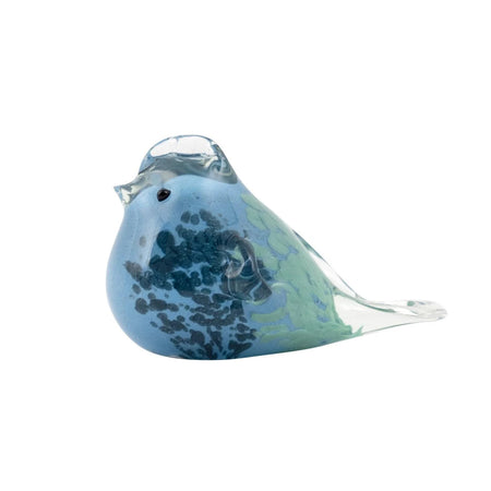 Bray Glass Royal Blue Bird Small