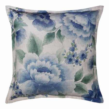 Camilla Blue/Green Cushion Square