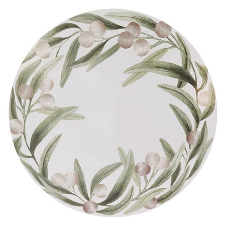 Lilly Pilly Round Placemat Set Of 4