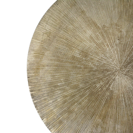 Brass Etched Lazy Susan