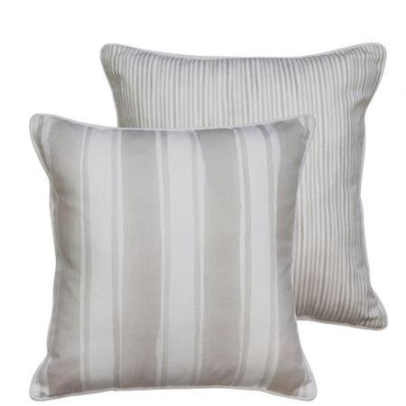 Fraser Stripe Sand Cushion Square