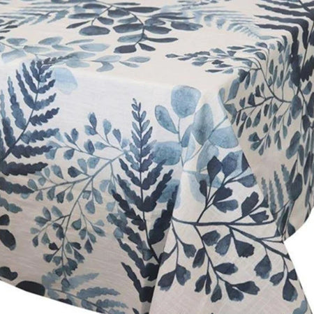 Fernery Blue Tablecloth