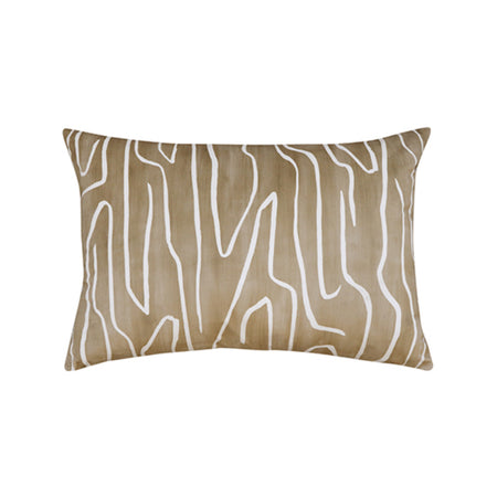 Crevice Mustard Cushion 40x60cm