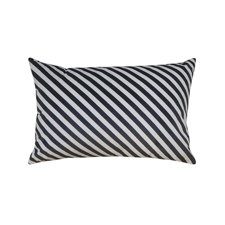 Diagonal Stripe Velvet Cushion 40x60cm