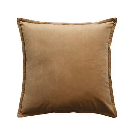 Mira Velvet Toffee Cushion 50cm