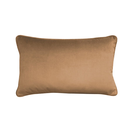 Mira Velvet Toffee Cushion 30x50cm
