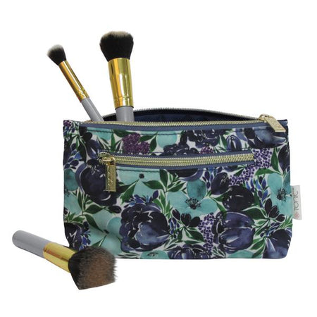 Small Cosmetic Bag Flourish Blues