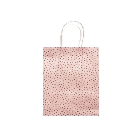 Gift Bag Starry Night Pink& Gold 16 x 20cm