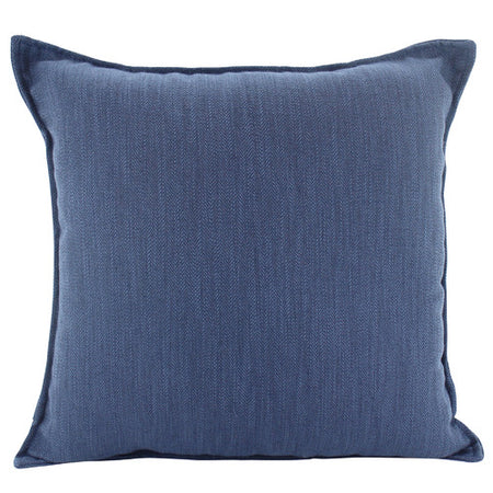 Linen Navy Cushion Square