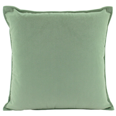 Velvet Cushion Sage Square