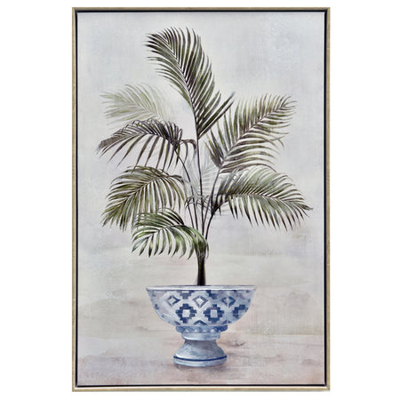 Framed Potted Palm