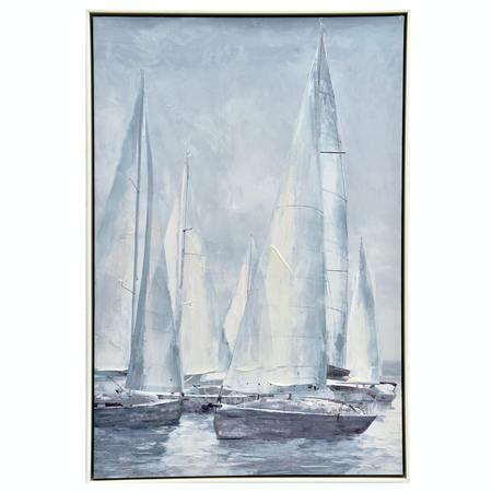 Framed Sailing Painting